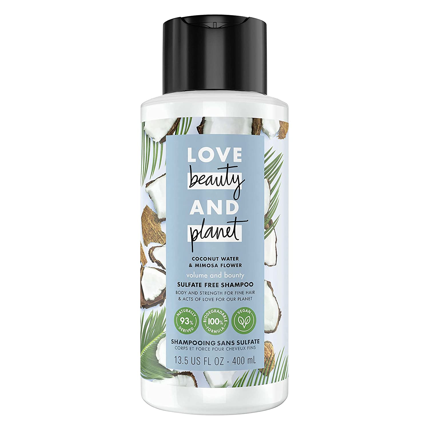 Shipping included Love Beauty and Planet Bounty Thickening Volume Fresno Mall Sulfate-free