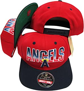 la angels retro hats