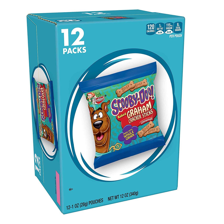 Ranking TOP5 Scooby-Doo Graham Cracker Sticks Cinnamon 12 Max 83% OFF 2 ct pack
