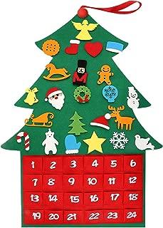 felt mitten advent calendar