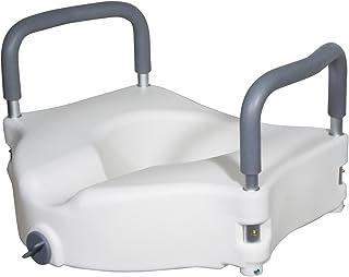 صندلی توالت برداشته شده با صندلی ارتوپد با سلاح های قابل شستشو، صندلی استاندارد