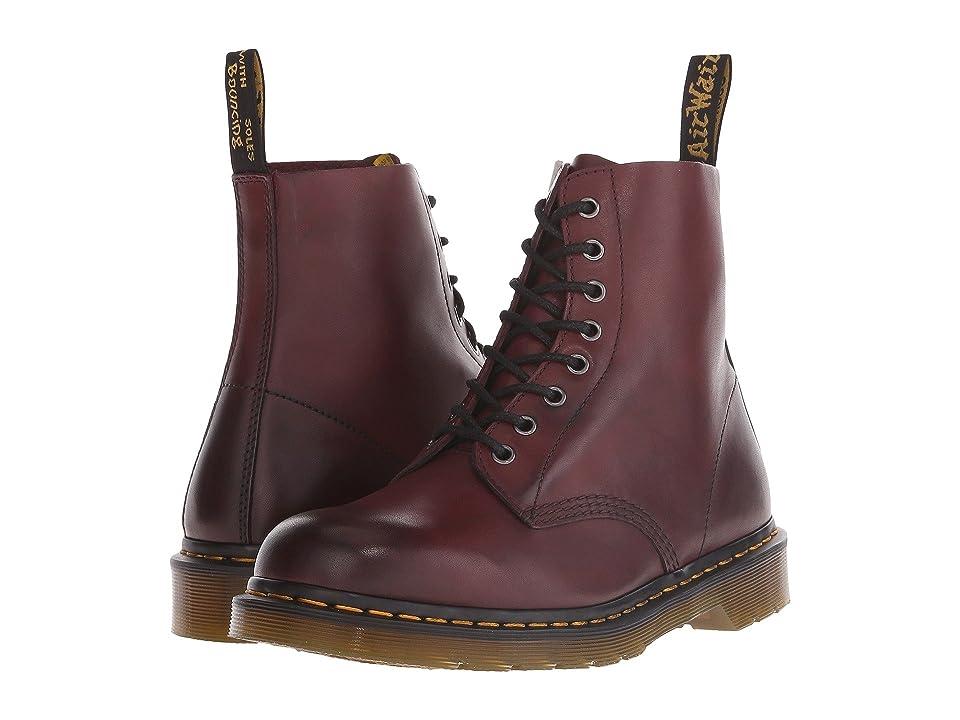 Dr. Martens Pascal 8-Eye Boot (Cherry Red Temperley) Men