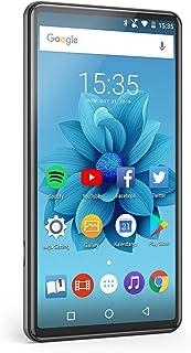 タブレット【最新版】小型 AGPTEK MP4プレイヤー 6インチHDディスプレイ MP4プレーヤー Wi-Fiモデル Androidシステム Bluetooth4.2搭載 デジタルオーディオプレーヤー 2G+16G type-c対応 フルタッ...