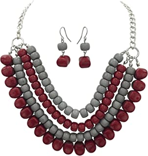 crimson necklace