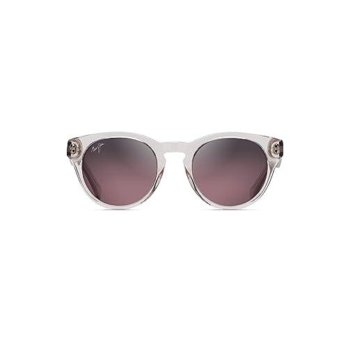 acbf03a1eca1 Maui Jim Dragonfly Polarized Translucent Grey Fashion Frame Sunglasses,  with Patented PolarizedPlus2 Lens Technology