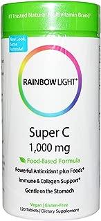 Rainbow Light Super C Tablet, 1000 Mg - 120 per pack - 3 packs per case.