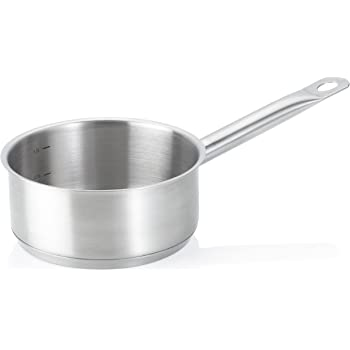 KECKU Fleischtopf Cailin 24 cm, Edelstahl, Silver