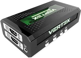 HDFury HDF0110 Vertex 2X 2 HDMI Matrix, 18Gbps für 4K60 4:4:4 600MHz, integrierter Scaler und Formatkonverter schwarz