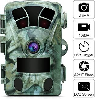 AIMTOM 21MP 1080P Hunting Trail Camera 2.4