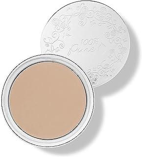100% PURE Fruit Pigmented Cream Foundation, Sand, Full Coverage Foundation, Anti-Aging, Matte Finish, Vegan Makeup (Light,...
