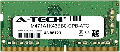 A-Tech 8GB Replacement for Samsung M471A1K43BB0-CPB - DDR4 2133MHz PC4-17000 Non ECC SO-DIMM 1rx8 1.2v - Single Laptop & Notebook Memory Ram Stick (M471A1K43BB0-CPB-ATC)