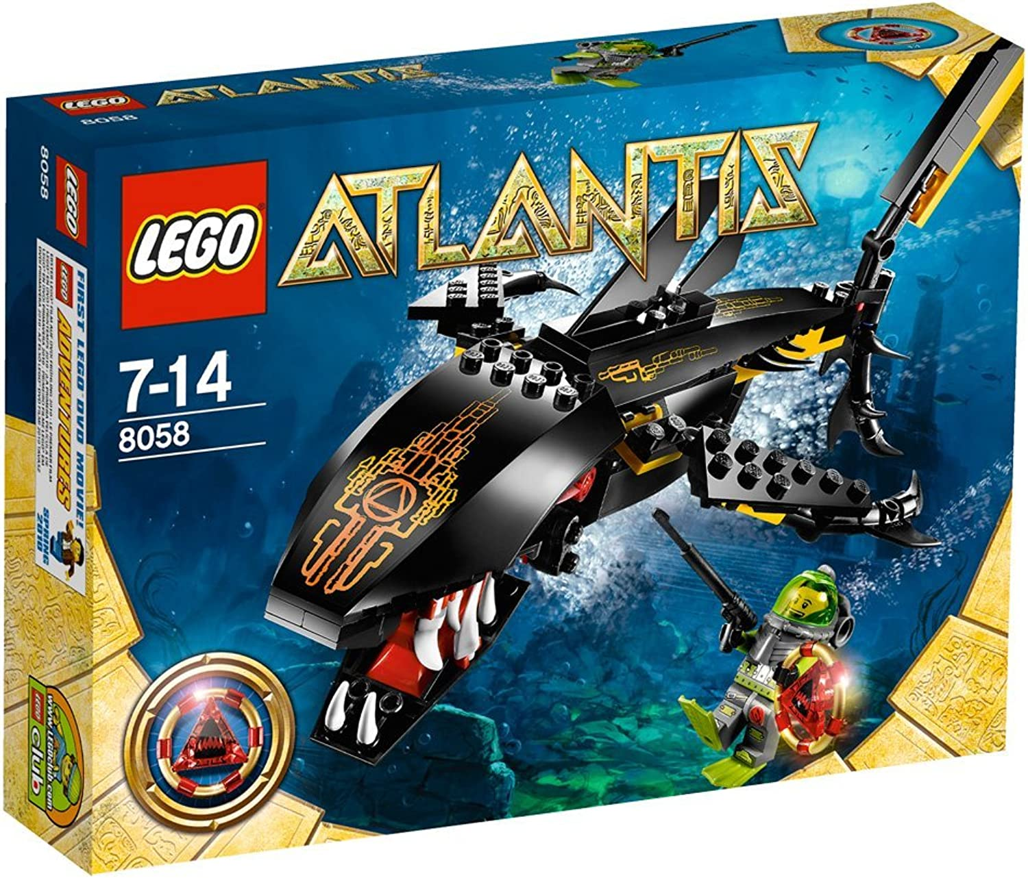 LEGO Atlantis 8058  Guardian of the Deep