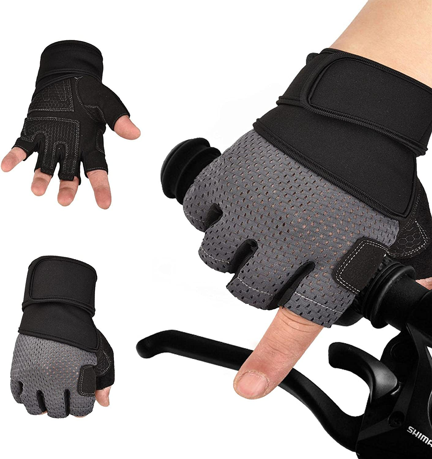BAODAN Special price for a limited time Cycling Gloves Half-Finger Mountain Bike Fashion