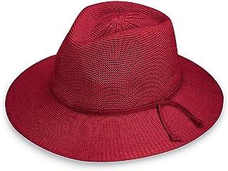 Wallaroo Hat Company Women s Victoria Fedora Sun Hat - UPF 50+ ccc2c218d3cf