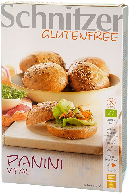 Panecillos bio energéticos con amaranto sin gluten Schnitzer, 4 uds
