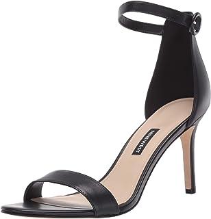 Nine West Women's Fashion Sandal Heeled, Black, 5-11