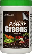 NuMedica - Power Greens Espresso - 300 Grams / 30 Servings