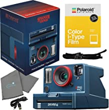 Polaroid Stranger Things OneStep 2 Viewfinder i-Type Camera 9017 Bundle with a Color i-Type Film Pack 4668 (8 Instant Photos) and a Lumintrail Cleaning Cloth