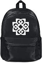 Womens Girl Boys Bag Purse Casual Nylon Durable School Backpack Breaking-Benjamin-Logo- College Bookbag