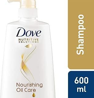 Dove Shampoo Nourishing Oil, 600ml