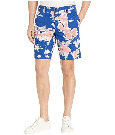 Dockers Supreme Flex Ultimate Shorts (Vibrant Blue Print) Men