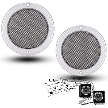 6.5inch Ceilings Bewinner 2PCS 6.5//8 inch Speaker Grille Car Audio Speaker Cover Decorative Circle Metal Mesh Protector Speaker Cover for Home Speakers Car Audio Systems
