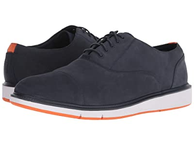 SWIMS Motion Cap Toe (Navy/Orange) Men