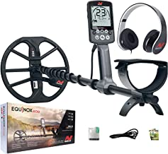 Minelab Equinox 600 Multi-IQ Metal Detector with EQX 11