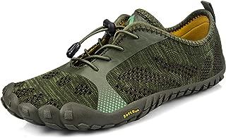 QANSI Mens Trail Running Quick Dry Hiking Shoes