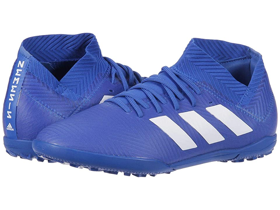 adidas Kids Nemeziz Tango 18.3 TF Soccer (Little Kid/Big Kid) (Blue/White) Kids Shoes