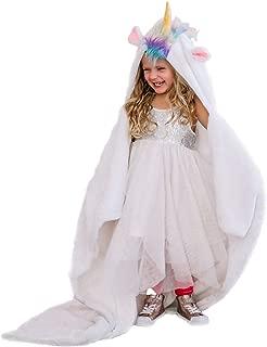 Best unicorn blanket with hood Reviews