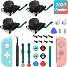 4 Joysticks Joycon, Joysticks de Reemplazo Para Nintendo Switch Joycon y Switch Lite, El Kit de Reparación de Reemplazo de...