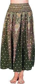 PANASIAM Summerskirt, Röcke einfarbig, aus 100% natürl. Viskose, passt S bis L