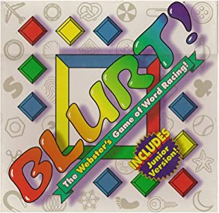 Blurt The Webster's Game of Word Racing