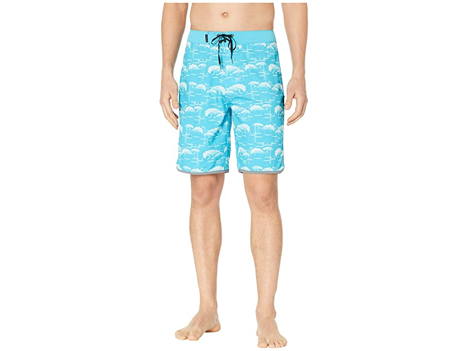 Hurley Phantom Oak Street 20 Boardshorts (Light Blue Fury) Men