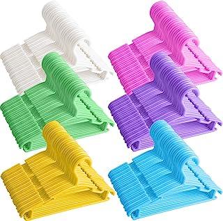 Amazon Com Children S Closet Clothes Hangers Plastic Children S Clothes Hangers Cloth Home Kitchen