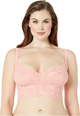 5e1d110acca Spanx Plus Size Spotlight On Lace Bralette at Zappos.com