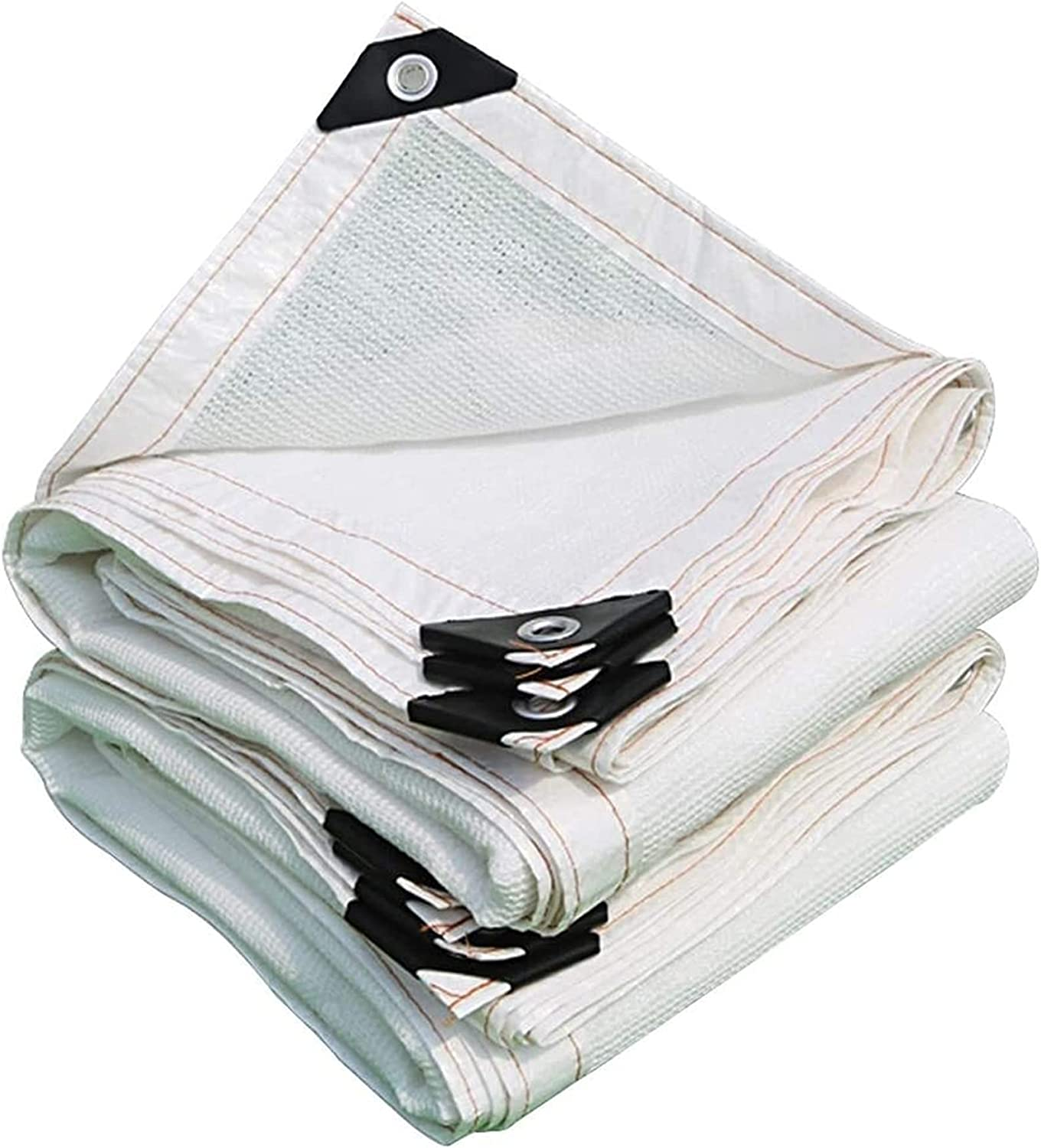 QBV 90% White Shade Cloth with Mesh Outdoor Sun I NEW before selling Alternative dealer Heat Grommets