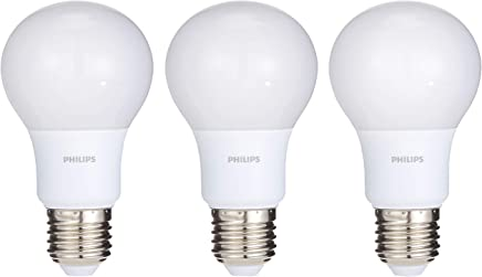 Philips LED Bulb 7-60W E27 6500K X 3Pcs Offer Pack, White
