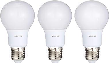 Philips LED Bulb 7-60W E27 6500K X 3Pcs Offer Pack, White