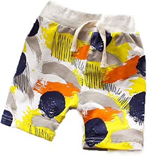 Mengmeng Toddler Baby Boy's Dinosaurs Print Cactus Stripes Short Pants