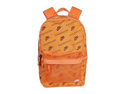 Nike Heritage Backpack 2.0 (Melon Tint/Orange Frost/White) Backpack Bags