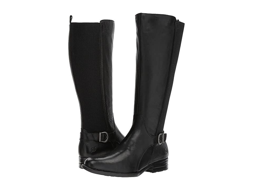 Born Campbell (Black Full Grain) Women