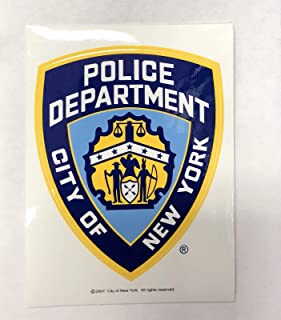Best NYPD New York Police Department Offical Licensed Sticker Decal Shield Review