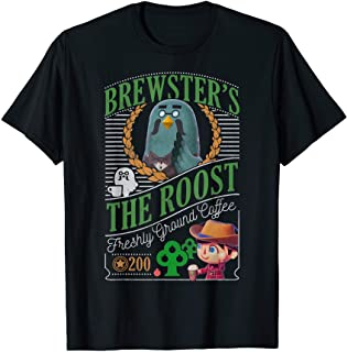 Animal Crossing Brewster's The Roost Cafe Graphic T-Shirt T-Shirt