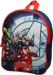 Sac à Dos goûter Maternelle 31 cm Avengers Marvel Bleu Marine Bagtrotter