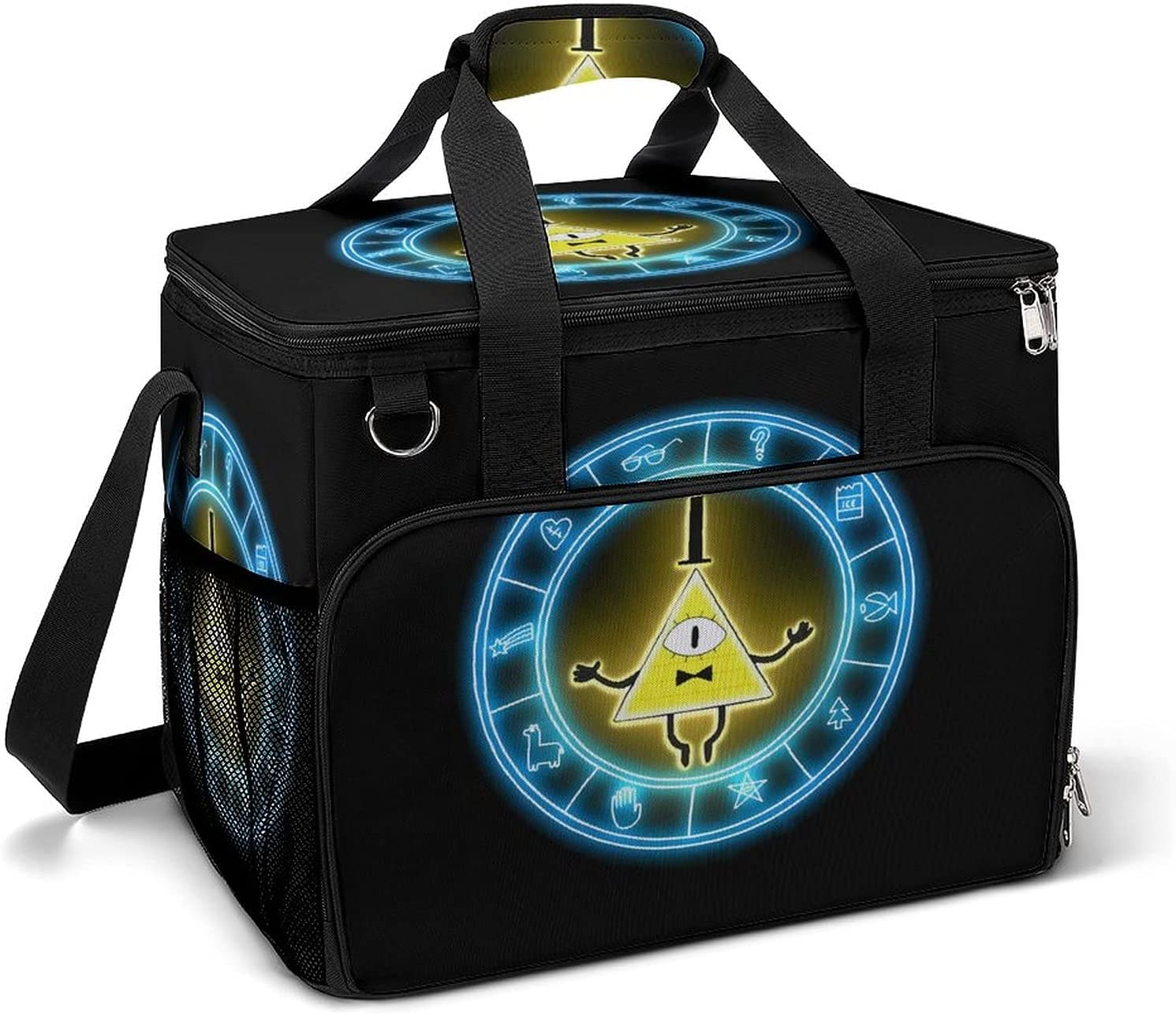 Genuine Large Anime Cooler Bag Lunch Airtight Camping Detroit Mall Insu ice pack