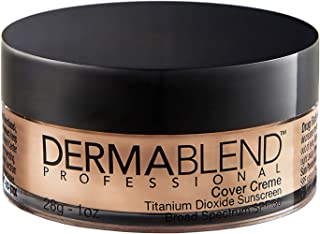 Dermablend Professional Cover Creme - Full Coverage, All-Day Hydrating Cream Foundation - Dermatologist-Created, Fragranc...