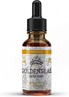 Goldenseal Root Tincture, Organic Goldenseal Extract (Hydrastis Canadensis) Health Supplement, 2 oz, 680 mg
