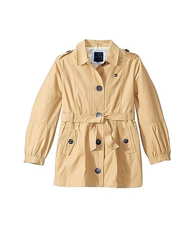 Tommy Hilfiger Kids Trench Coat (Big Kids) (Crossaint) Girl